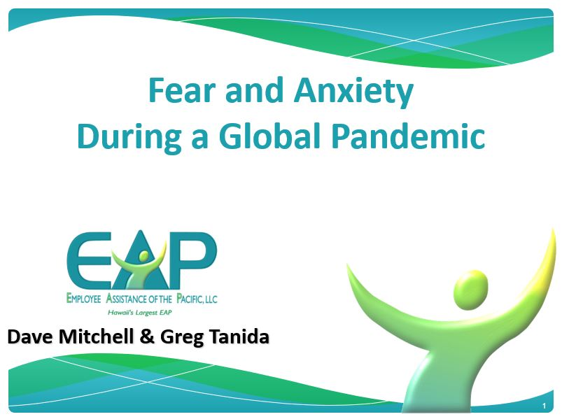 Fear and Anxiety First Slide
