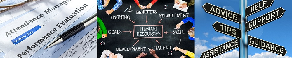 We help with a variety of HR issues